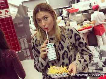 Maria Sharapova reveals her favorite fast food and post-workout snack - Tennis World USA