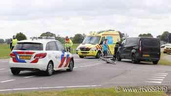 Fietser gewond bij ongeluk op N348 bij Broekland - RTV Oost