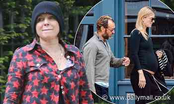 Sadie Frost heads to ex Jude Law's house to congratulate him after and wife Phillipa pregnancy news - Daily Mail