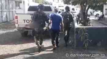 En Pailitas, Cesar, Ejército logró capturar a alias 'Dair', pertenecería al Eln [VIDEO] - Diario del Sur