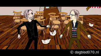 Henk Koorn en Melle de Boer bij Acoustic Alley - Dagblad070