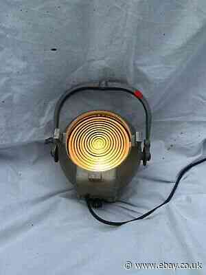 Strand Electric PATT 123 Vintage Fresnel Theatre light 1of3 (red Tag)