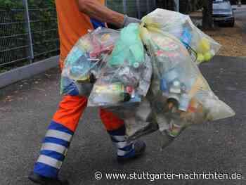Abholtermine von Juni bis Dezember 2020 - Gelber Sack in Stuttgart - Stuttgarter Nachrichten