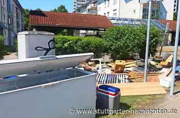 Sperrmüll in Stuttgart-Fasanenhof - Nachbarn erbost über abgestelltes Gerümpel - Stuttgarter Nachrichten