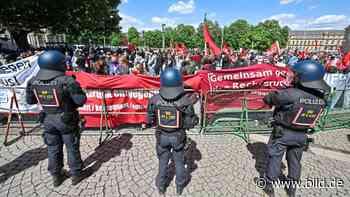 AfD-Demo in der City - Kaum Abstand und kein Mundschutz - BILD