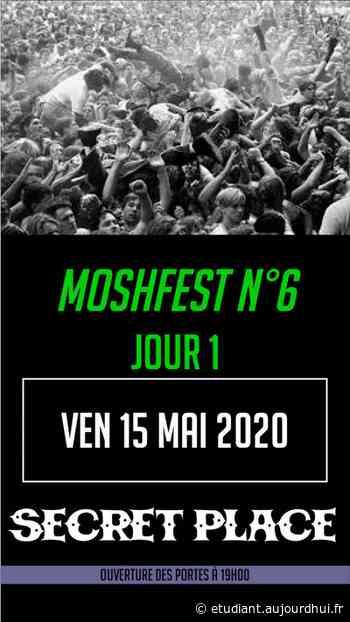 MOSHFEST N6 PASS VENDREDI - Secret Place , Saint Jean De Vedas, 34430 - Sortir à France - Le Parisien Etudiant