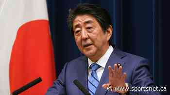 Japan's PM Shinzo Abe says COVID-19 vaccine a priority for Olympics - Sportsnet.ca