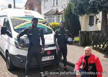 Jamaican bobsleigh team train for Winter Olympics by pushing Mini Cooper around Peterborough's streets - Peterborough Telegraph