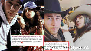 Priyanka Chopra Jonas and hubby Nick Jonas celebrate second anniversary of their first date with romantic notes and 'first picture clicked together'