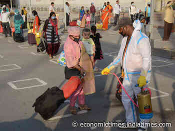 Coronavirus Live Updates: Uber lays off 600 people; Paytm sends 4000 masks for MP's frontline workers - Economic Times