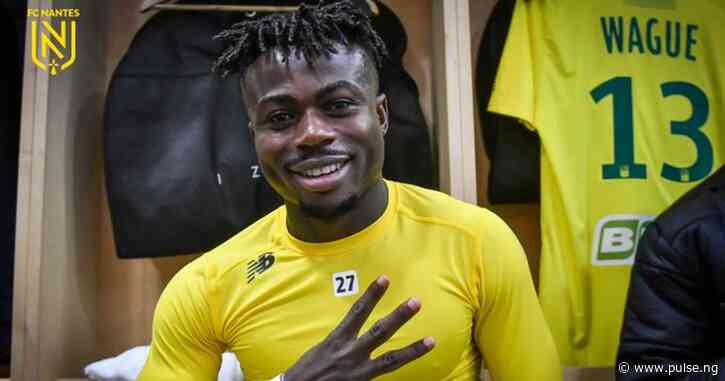 Nigerian forward Moses Simon signs 4-year deal to remain at French club Nantes after an impressive loan stint