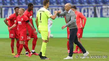 FC Augsburg: Warum Trainer Heiko Herrlich auf Daniel Baier verzichtete - kicker - kicker