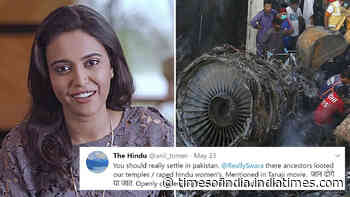 Troll asks Swara Bhasker to 'settle in Pakistan', actress hits back