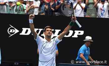 """Tennis, Djokovic sull'Adria Tour: """"Federer ha problemi fisici, Rafa non mi aspetto venga"""" - Sportface.it"""
