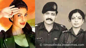 Priyanka Chopra Jonas pays rich tribute to 'fallen heroes' on Memorial Day with a priceless throwback pic of her parents proudly posing in their army uniforms