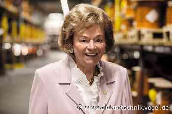 Unternehmensgründerin Ursula Lapp wird 90