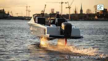 Elektro-Sportboot: Hamburg: Demnächst fliegt eine Weltneuheit über die Elbe