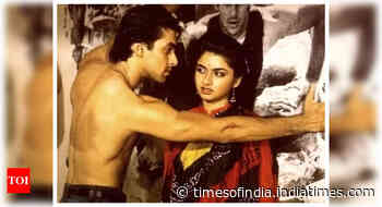 When Salman was asked to kiss Bhagyashree
