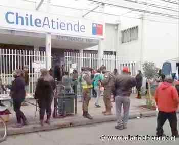 Linares: Cierre sorpresivo en Registro Civil provocó preocupación entre usuarios - Diario El Heraldo Linares