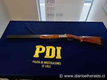 PDI de Linares detiene por amenazas con arma de fuego a sujeto en Longaví - Diario El Heraldo Linares