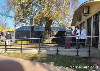 Supervisan Carpas del Ejército Instaladas en Hospital de Linares y Parral - Diario El Heraldo Linares