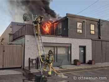 Ottawa fire crews battle Coconut Lagoon blaze - Ottawa Sun