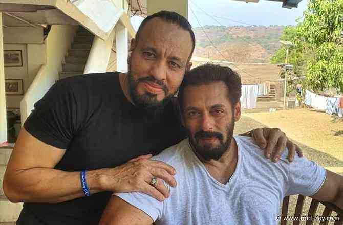 Shera shares a heartfelt photo with Salman Khan, says 'My Eid is never complete without my Maalik'