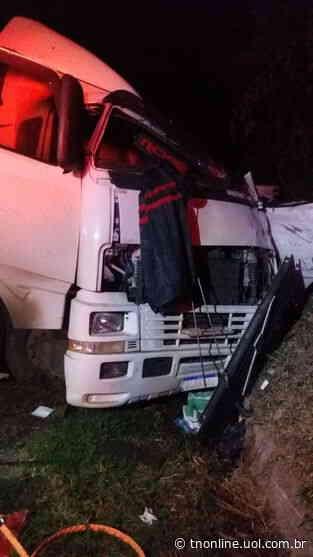Caminhoneiro morre em acidente na BR 376 em Ortigueira - TNOnline - TNOnline