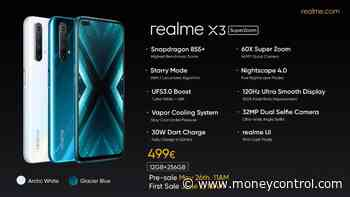 Realme X3 SuperZoom launched with periscope camera, Snapdragon 855  SoC and 120Hz display
