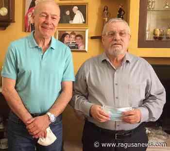 Il sindaco di Pozzallo incontro l'Arcivecovo pozzallese Gallaro Pozzallo - RagusaNews
