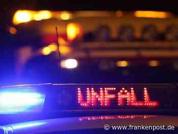 Burgebrach: Nach Frontalzusammenstoß: Mann in Auto eingeklemmt - Frankenpost