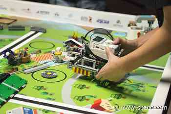 Lego and partners open online robotics competition for students
