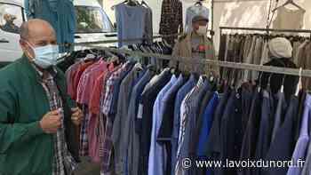 Premier marché masqué ce lundi à La Madeleine - La Voix du Nord