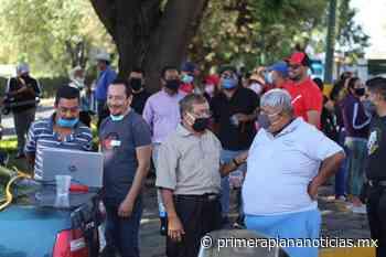 Se manifiestan para que los dejen trabajar, en Uruapan - Primera Plana Noticias
