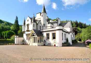 A spectacular Disney-style mansion is for sale in Scotland - with turrets and its own waterfall - Edinburgh News