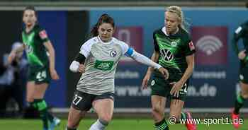 DFB-Pokal der Frauen: Halbfinale mit VfL Wolfsburg ausgelost - SPORT1