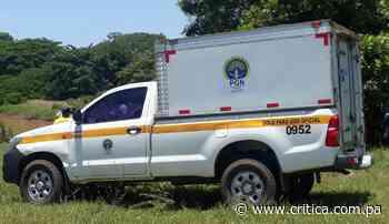 Hallan cuerpo de campesino en Cañazas, Veraguas - Crítica