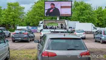Neues Format: Itzehoe: Drive-In-Gottesdienst auf den Malzmüllerwiesen kommt an   shz.de - shz.de
