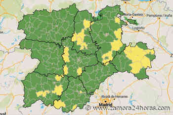 El mapa del coronavirus de la provincia de Zamora se tiñe de verde - Zamora 24 Horas