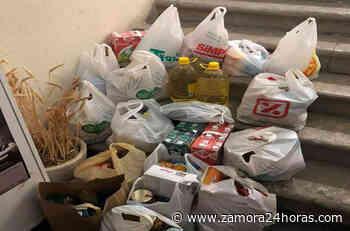 El Banco de Alimentos de Zamora recibe una donación de los vecinos de Fuentesaúco - Zamora 24 Horas