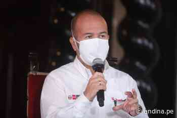 Coronavirus: ministro Zamora ratifica que Perú redujo sustantivamente nivel de contagios - Agencia Andina