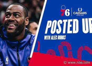 Posted Up! | Alec Burks