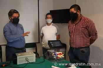 Desarrollan jóvenes del Tecnológico de Uruapan respirador artificial - Quadratín - Quadratín Michoacán
