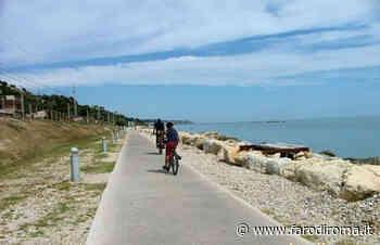 Il 25 maggio riapre la pista ciclopedonale di Grottammare - Cupra Marittima - Farodiroma