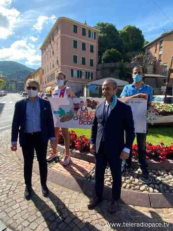 La Liguria che riparte. Di corsa: staffetta di Andrea Pestarino da Ventimiglia a La Spezia - Teleradiopace