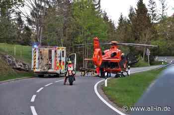 Rettungseinsatz: Unfall am Jochpass: Motorradfahrer (27) schwer verletzt - Bad Hindelang - all-in.de - Das Allgäu Online!