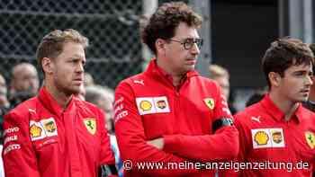 """Vettels Optionen werden weniger: Nächster Formel-1-Rennstall sagt ihm ab -""""Ich kann das nicht bezahlen"""""""