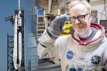 Adam Savage on SpaceX's first astronaut launch, spacesuits and storytelling