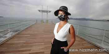 PHOTOS. Cette Cannoise a développé sa propre collection de masques sur mesure dans l'esprit haute couture