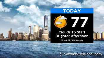 New York Weather: CBS2's 5/26 Tuesday Afternoon Forecast - CBS New York